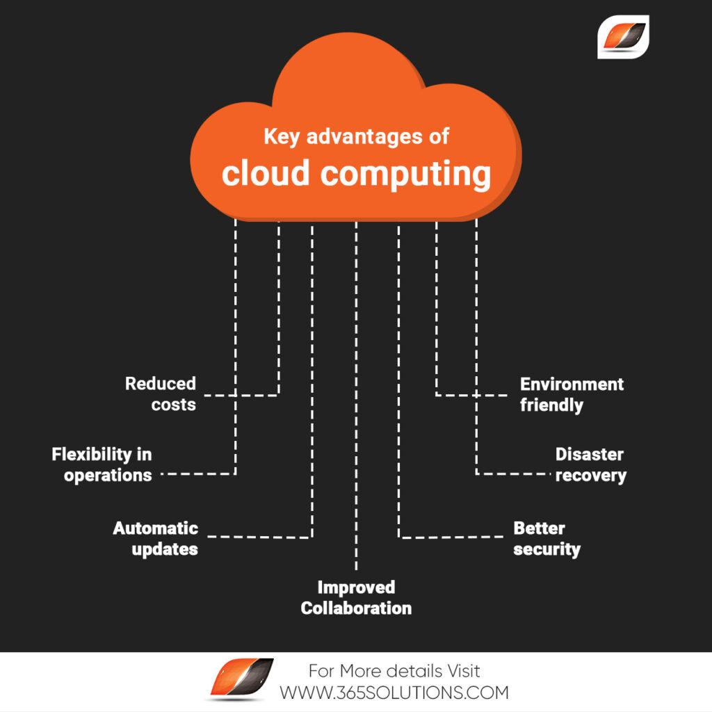 key advantages of cloud computing